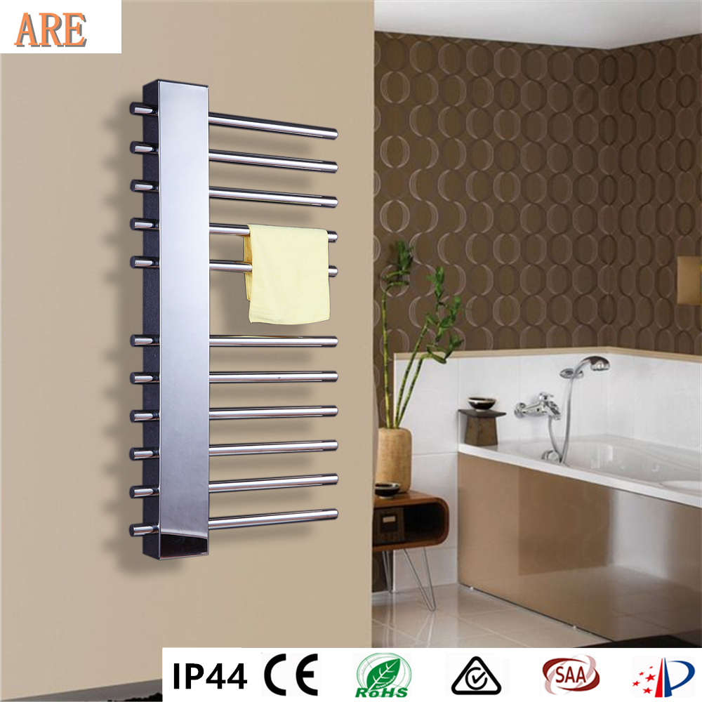 Braddan Stainless Steel Modern Towel Warmer Heated Towel: 2018 Free Shipping Stainless Steel Electric Wall Mounted