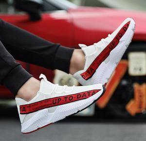 Image 4 - Delocrd ayakkabı erkekler streetwear sneakers zapatillas hombre chaussure hip hop hava mesh kadar veri rahat ayakkabılar