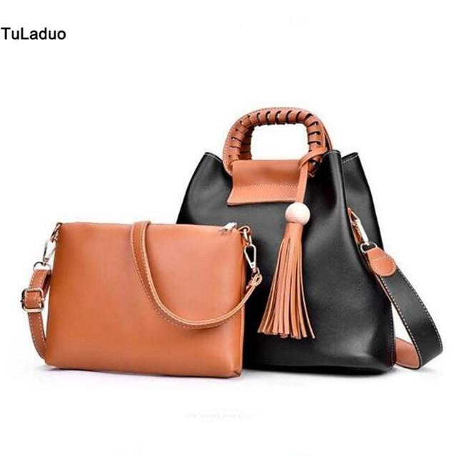 Beautiful Fashion Woman Bao Sweet Waterproof Nice Looking Small Bag Lady One Order With 2