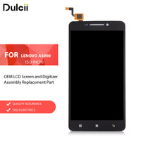 For Lenovo A5000 5 0 Inch OEM LCD Screen And Digitizer Assembly Replacement Part For Lenovo