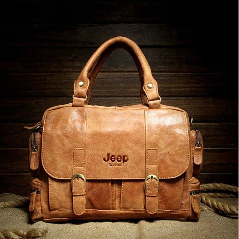 Известный бренд 100% натуральная кожа сумка мужская сумка винтажная мужская дорожная сумка модная мужская сумка через плечо