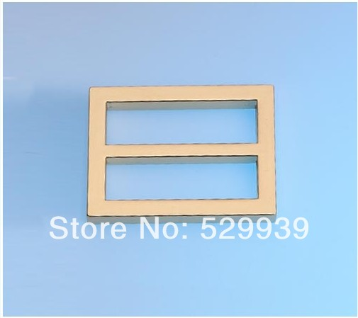 44mm 1 7 8 inch Brushed antique brass finished handmade bags square buckle DIY belts metal