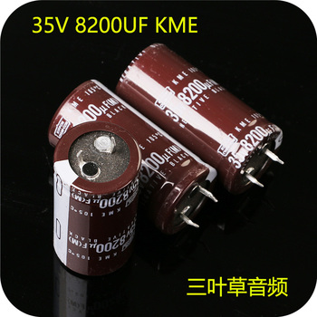 2018 hot sale 4PCS/10PCS Japan NIPPON Electrolytic Capacitor 35V8200UF 25X50 KME Filter capacitor free shipping free shipping 10pcs cd0001am