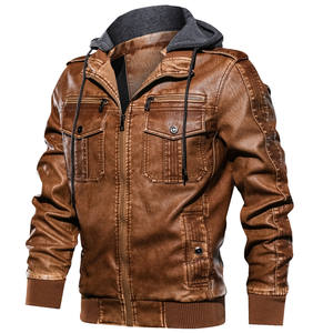 a38a5afe3 ᗜ Ljഃ New! Perfect quality leather jacket men european and get free ...