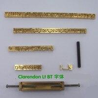 황동 문자, CNC 조각 금형, 핫 포일 스탬프, 번호, 알파벳 금형, 기호 사용자