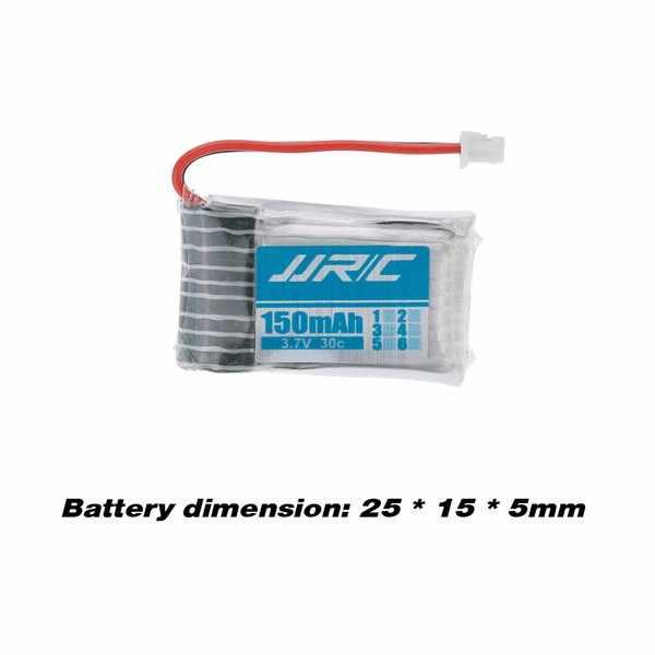 Gros 5 Pcs 3.7 V 150 mAh Li - po batterie et câble de recharge Set pour JJRC H20 RC Quadcopter