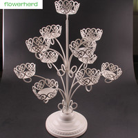 NEW!1 set 11 Cups Iron Cupcake Stand Birthday Party Hotel Cake Decoration Wedding Towers Tree Cake Dressert Stand