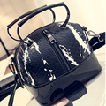 2017 Fashion Leather Handbags Snake Pattern Ladies Hand Bags American Style Small Women Messenger Bag Vintage Retro Shopper Tote