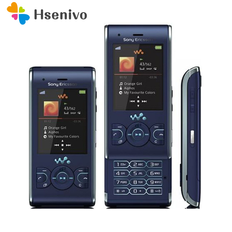 100% Original Unlocked Sony Ericsson W595 FM Radio Bluetooth 3.15MP Camera Good Quality Refurbished Cellphone Free Shipping