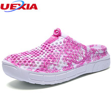 818fe4a819ab39 UEXIA Flip Flops Women Sandals Summer Slippers Shoes Casual Walking Seaside  Beach Slides Brand Designer Flats