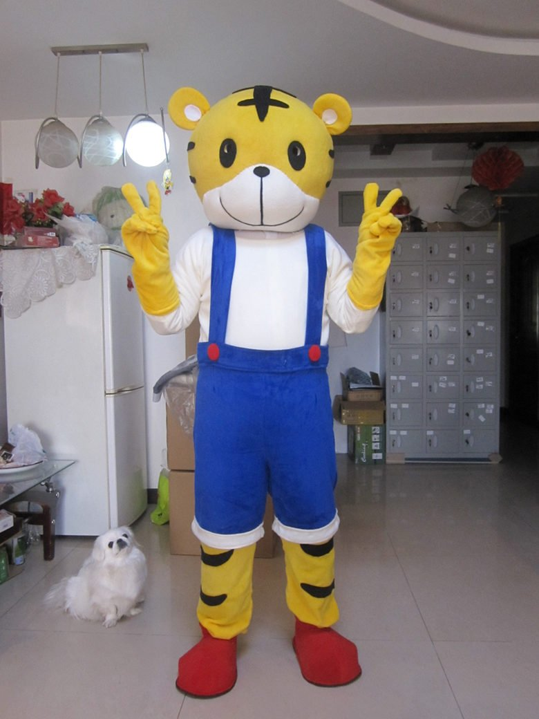 costume mascot picture more detailed picture about tiger plush