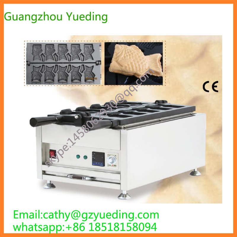 High Quality electric Fish cake machine ice cream Taiyaki baker machine edtid new high quality small commercial ice machine household ice machine tea milk shop