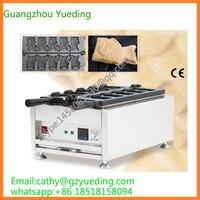 באיכות גבוהה עוגת דג חשמלי מכונת גלידת מכונת אופה Taiyaki|מכשיר להכנת ופל|מכשירי חשמל ביתיים -