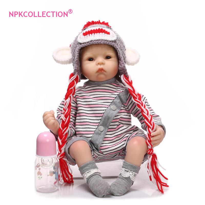 New Style 22 Adora Lifelike Toddler Baby Alive Boneca Boy Kid Doll Bebe Reborn Menina de Silicone Toys For Children Gifts купить