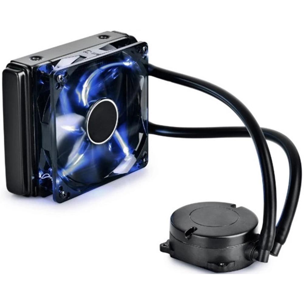 все цены на 120K CPU Liquid Cooler Cooling Radiator Fan Heatsink For Intel LGA2011 1366 1156 1155 AMD EM88