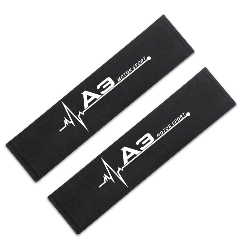 Image 3 - Car Styling Protect Shoulders Pads Case For Audi A3 8p 8v 8l Accessories Car Styling-in Car Stickers from Automobiles & Motorcycles