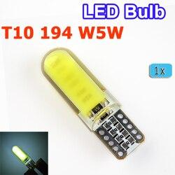 Hippcron светодиодный лампы T10 светодиодный W5W Лампа 194 початка силикон автомобиль свет авто-Стайлинг белый красный желтый и зеленый цвета синег...