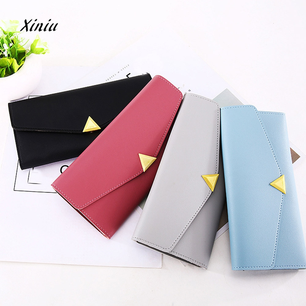 Women Wallets Large Capacity Leather Coin Wallet Purse Brand New Fashion Phone Clutch Cute Card Hold Female Long Purses Supply kyerivs purses new fashion wallet women pu leather wallets brand long clutch female wallet coin purse for phone card holders