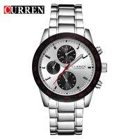 Curren Top Brand Luxury Men Watches Full Steel Men S Business Wristwatches Fashion Casual Sport Quartz