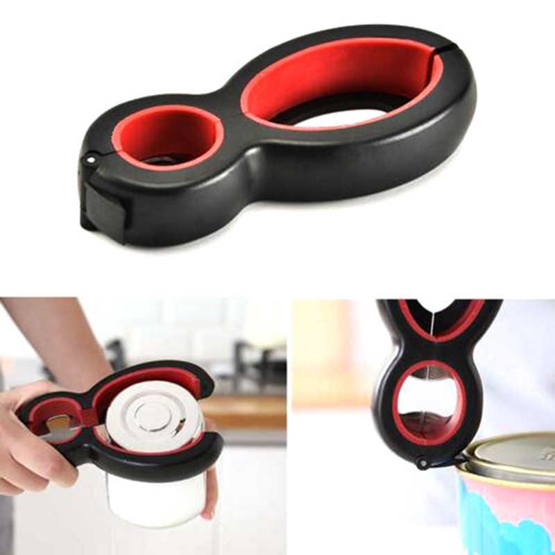 ฝาปิดที่เปิดขวด 6 In 1 Handy Screw Cap Jar Openersอเนกประสงค์ที่เปิดฝาขวดประแจGrip gadgetsครัว