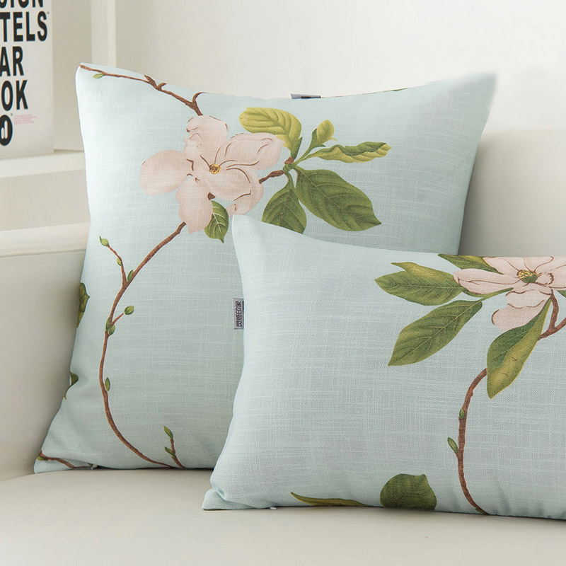 Euro Style Cushion Cover Throw Pillow Cover Texile Printing Cotton Linen Sofa Hosse De Cussion ...