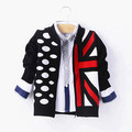 2017 spring and autumn kids sweaters boys child long-sleeve outerwear boy cardigan zipper sweater 9g-7