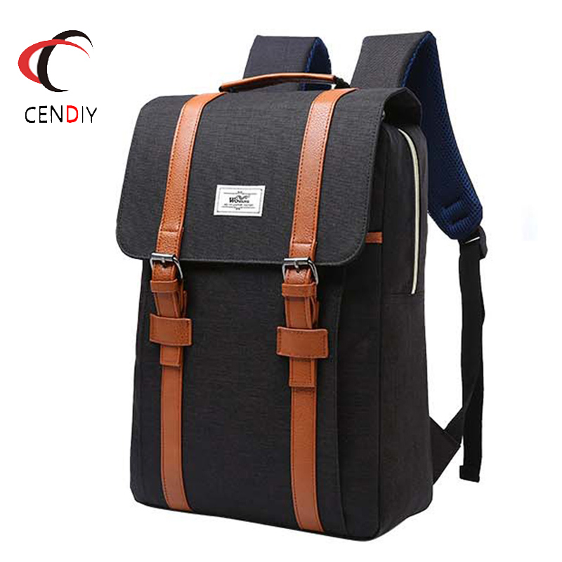 Fashion Nylon Men's Backpack For School Bag College Student Laptop Backpack Female Casual Rucksacks Travel Bag Backpack Women