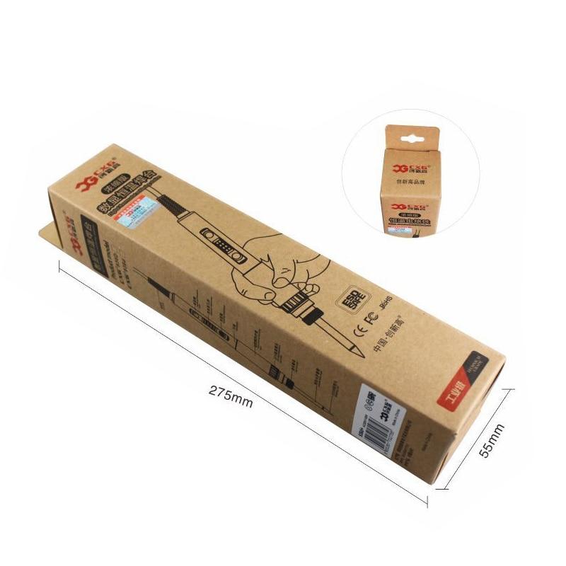 LED hőmérsékleten állítható elektromos forrasztópáka 220V - Hegesztő felszerelések - Fénykép 3