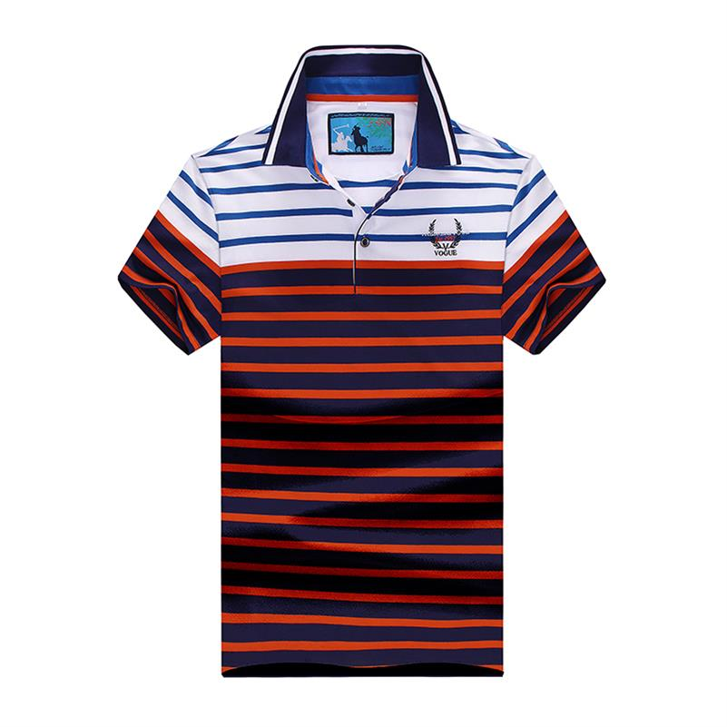 10XL 8XL 6XL Striped Polo Dress Men Brand Clothing Polo Homme Shirts Brand New Summer Men Polo Shirt Casual Cotton Short Sleeve