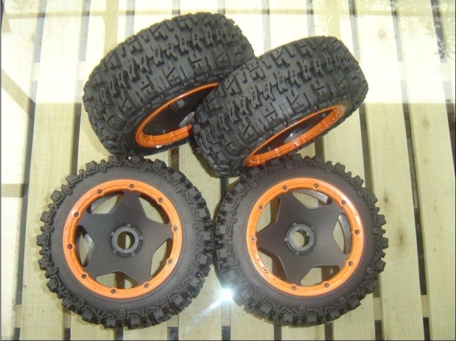 baja 5b trencher tyre set 5b baja whole road tires set  tyre set