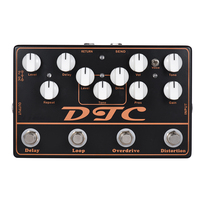 SOACH High Quality DTC 4 In 1 Electric Guitar Effects Pedal Distortion Overdrive Loop Delay