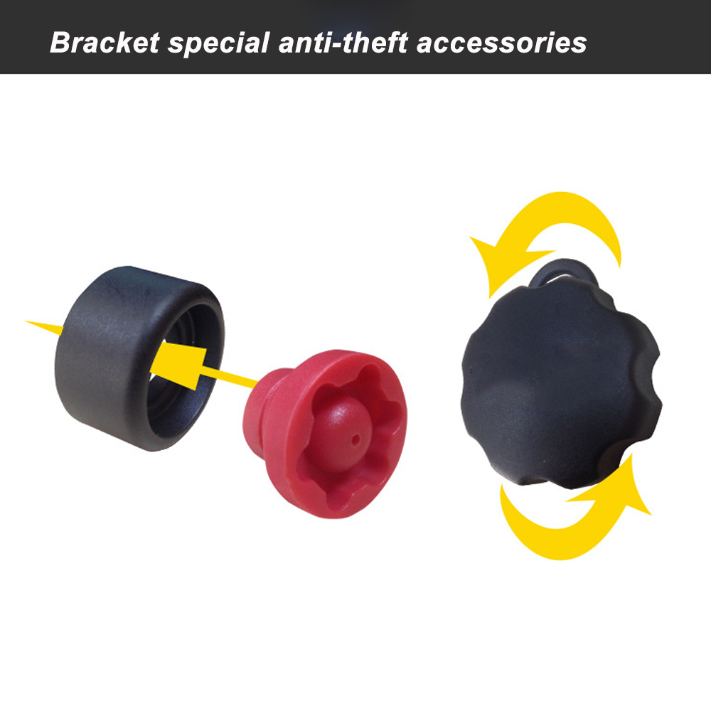 Image 4 - JINSERTA Mixed Combination Anti Theft Pin Lock Security Knob and Key Knob for ram mount 1 inch Diameter B Size Arm Socket-in Sports Camcorder Cases from Consumer Electronics