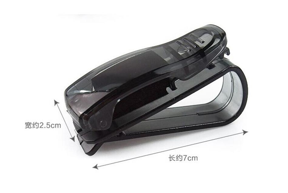 HTB1 URiXjzuK1RjSspeq6ziHVXaV - Hot Sale Auto Fastener Cip Auto Accessories ABS Car Vehicle Sun Visor Sunglasses Eyeglasses Glasses Holder Ticket Clip for cruze