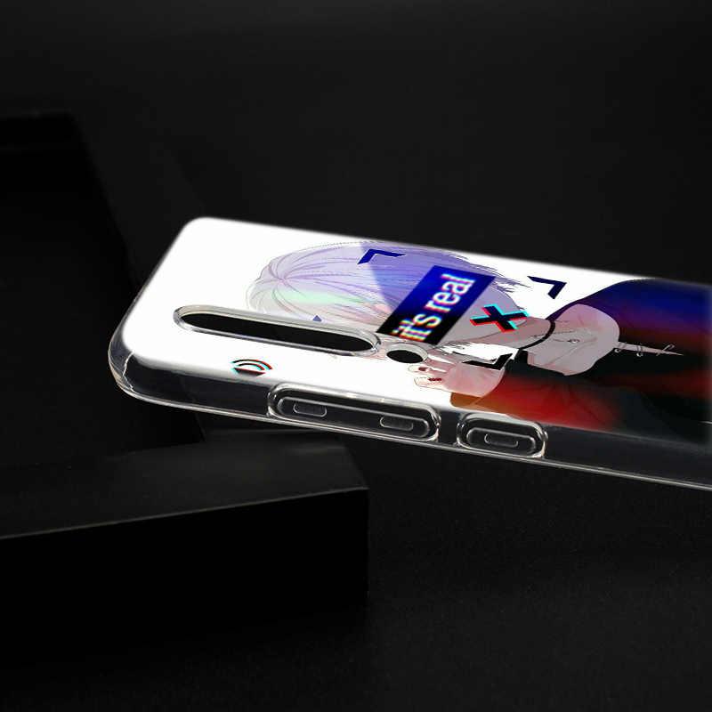 Nóng DÂM DỤC Buồn Anime Ốp Lưng Silicone Cho Xiaomi Pocophone F1 9 T 9 9SE 8 A2 Lite A1 A2 Mix3 redmi K20 7A Note 4 4X5 6 7 Pro S2 Bao