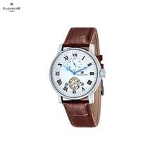 Наручные часы Earnshaw ES-8042-02 мужские механические с автоподзаводом на кожаном ремешке