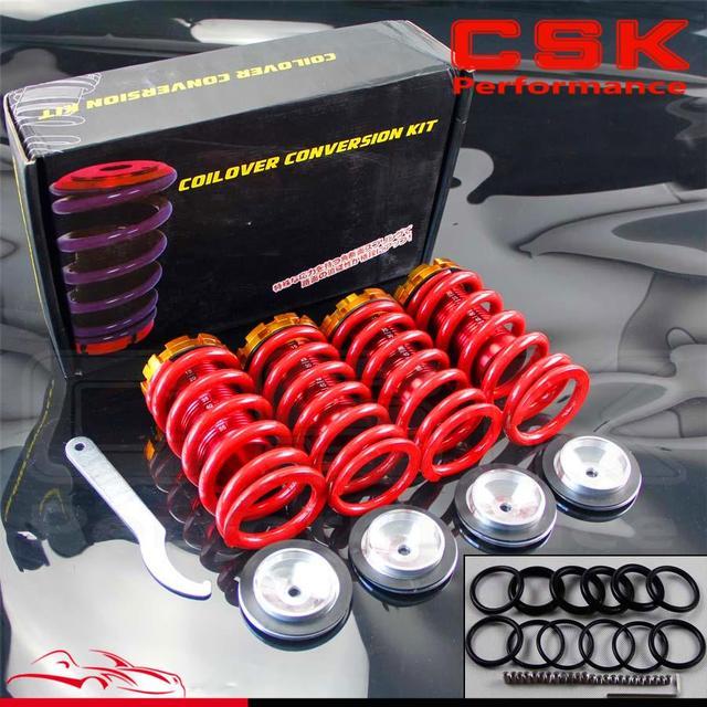 Escala De Alumínio Rebaixamento Da Suspensão Coilover Molas Para Honda Civic  88 00