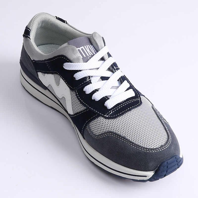 สีรองเท้าผ้าใบแบนเชือกผูกรองเท้าสบายๆกับLacesสีเทาสีแดงLacesรองเท้ารองเท้าวิ่งLaces
