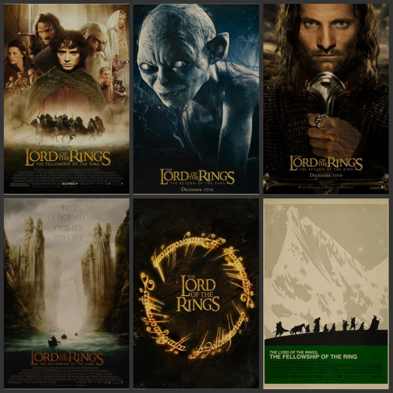 The Lord Of The Rings Trilogy The Lord Rings The Hobbit