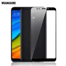 Full Cover Tempered Glass For Xiaomi Redmi 5/5 Plus Prime Screen Protector Toughened Film стоимость