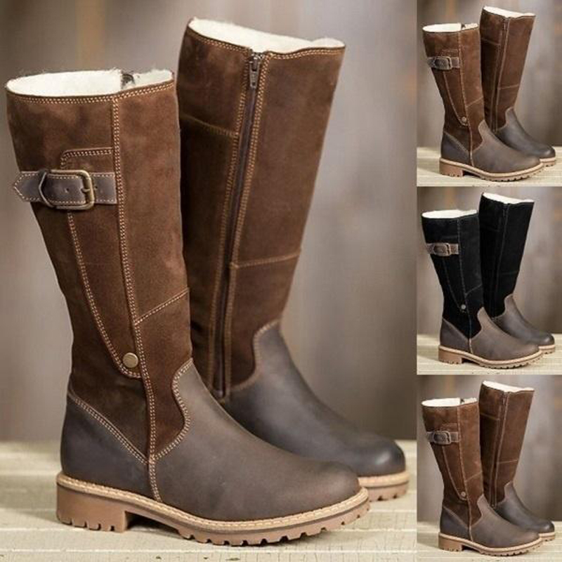 CIMIM-Ankle-Boots-Women-Fashion-Knee-High-Boots-Ladies-Winter-Boots-Luxury-Shoes-Casual-Women-Snow