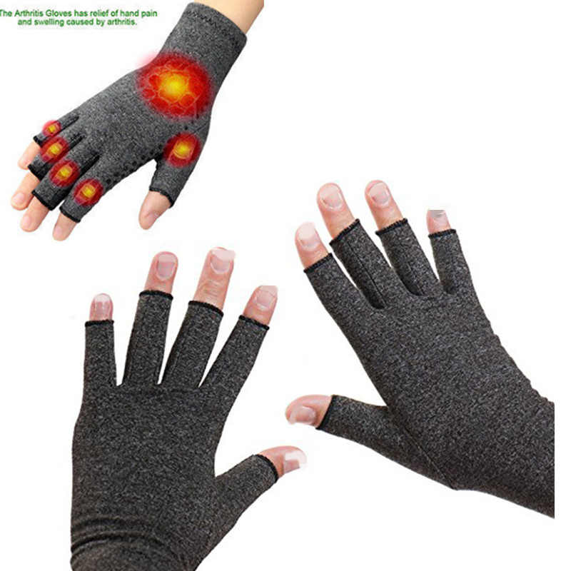 1 Pair Anti Arthritis Gloves Compression Joint Finger Wrist