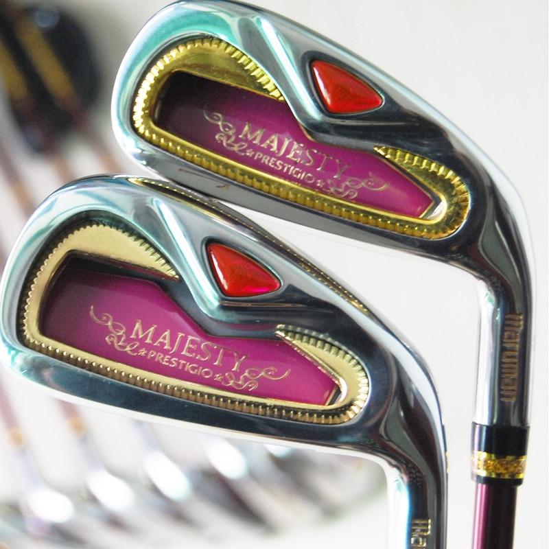 Cooyute nuevas mujeres palos de golf maruman majesty golf irons set 4-9.pw.aw.sw