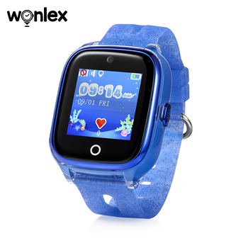 Wonlex Kids Smart Wifi Watch Waterproof IP67 Swimming Sporting Watch SOS Help GPS Positioning Wearable Anti-lost SeTracker KT01 2