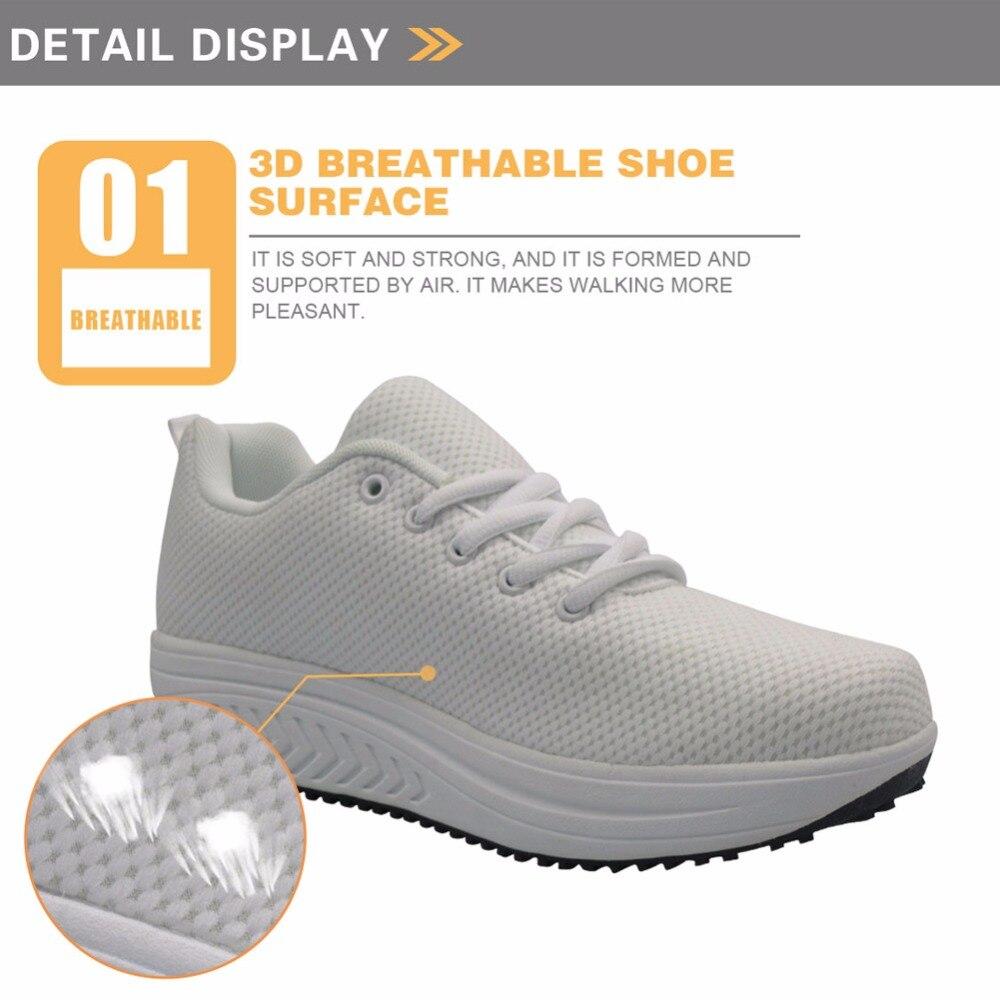 Pour h9870as De Léger Instantarts Chiot Maille Sneakers Filles forme Minceur Imprimé Plate Chaussures Doodles Swing Zapatos Customas Casual Femmes nymN0wOv8