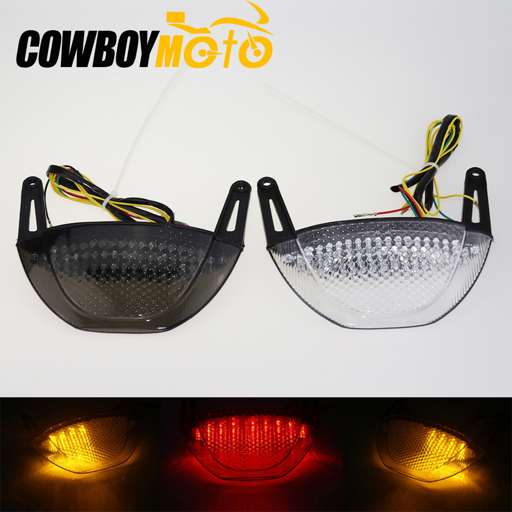 For Honda CBR600RR CBR 600 RR 2007 2008 2009 2010 2011 2012 Rear Tail Light Brake Turn Signals Integrated LED Light CBR 600RR 100% fit motorcycle fairings for honda cbr 600rr 09 10 11 cbr 600 rr rothmans blue fairing kits 2009 2010 2011 cbr600rr 7gifts