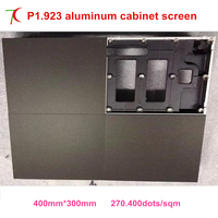 P1 923 Indoor 400 300mm Die Casting Aluminum Cabinet Led Display Screen Smallest Pitch High Definition