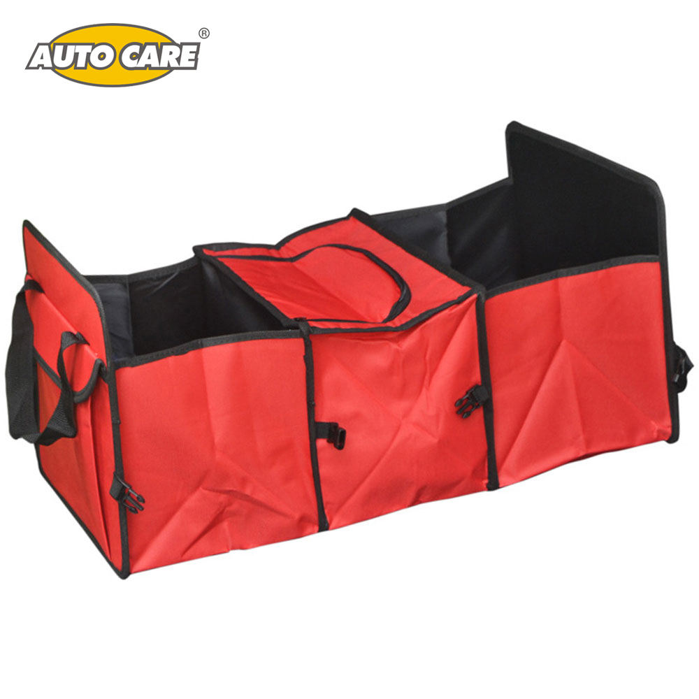 Car trunk storage bag Oxford Cloth folding truck storage box Car Trunk Tidy Bag Organizer Storage Box with cooler bag