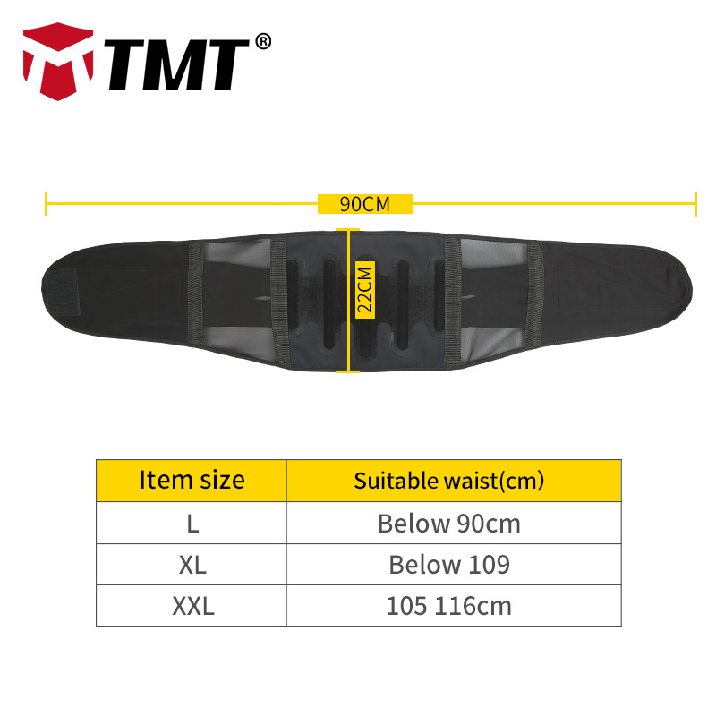 Купить с кэшбэком TMT Gym Lumbar Waist Support Adjustable Waist Trimmer Belt Back Exercise Weight Loss Body Shaper Fitness Slimming Belt