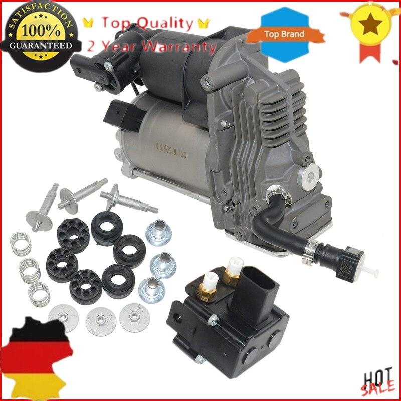 Compressor de Suspensão A ar Bomba/Válvula Para BMW X5 E70 X6 E71 E72 OE #37226775479,37206859714, 37 22 6 775 479,37 20 6 859 714 Novo