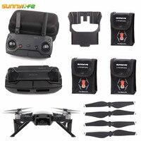 Sunnylife Mavic Air Accessories Battery Case + Joystick + Mavic Air Controller Bag + Lens Sunshade + Propeller + Landing Gear